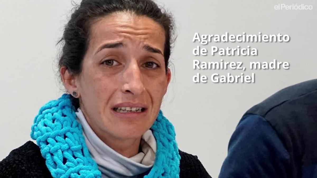 Patricia Ramírez, la mare de Gabriel, demana frenar la ràbia.