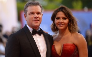 lmmarco39870798 us actor matt damon and his wife luciana barroso arrive for 180316200839