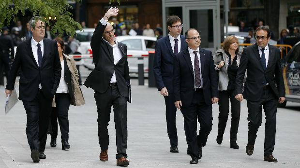 El juez Llarena procesará el viernes a Turull y el resto de imputados por declarar la independencia (ES)