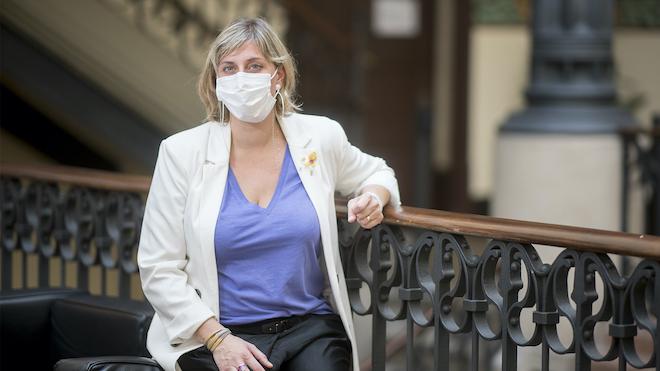 Alba Vergés: «Ara veiem com es pateix sense prou sanitaris»