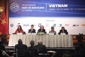 El port de Barcelona impulsa el comerç entre el Vietnam i Europa