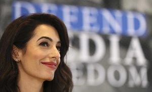 La abogada Amal Clooney.