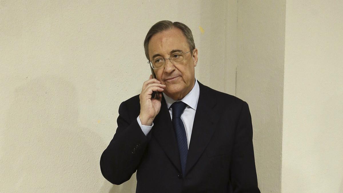 Florentino Pérez, presidente de ACS.