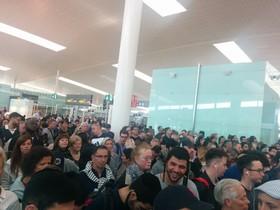 Caos en el aeropuerto de El Prat