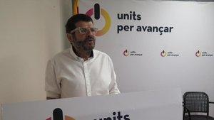 Albert Batlle, dirigente de Units per Avançar y teniente de alcalde de Barcelona
