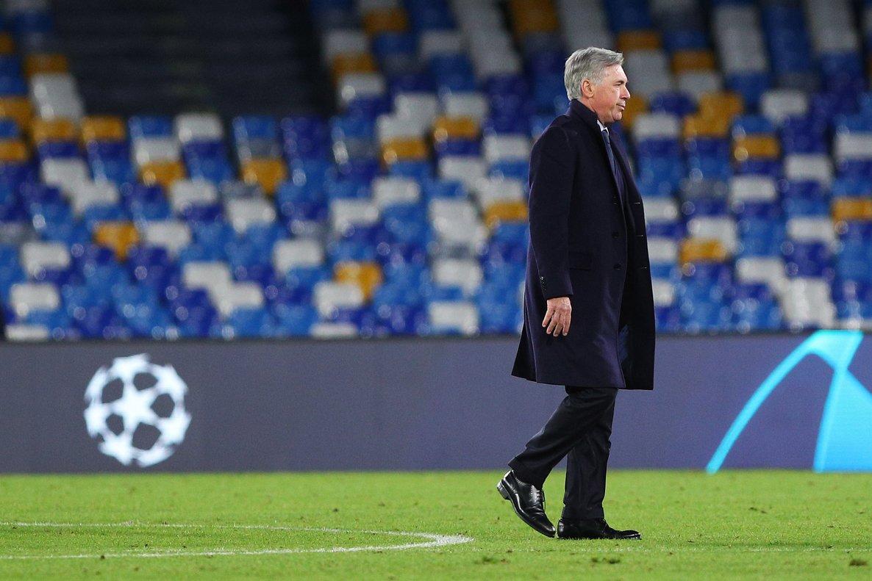 Ancelotti, en su último partido, este miércoles.