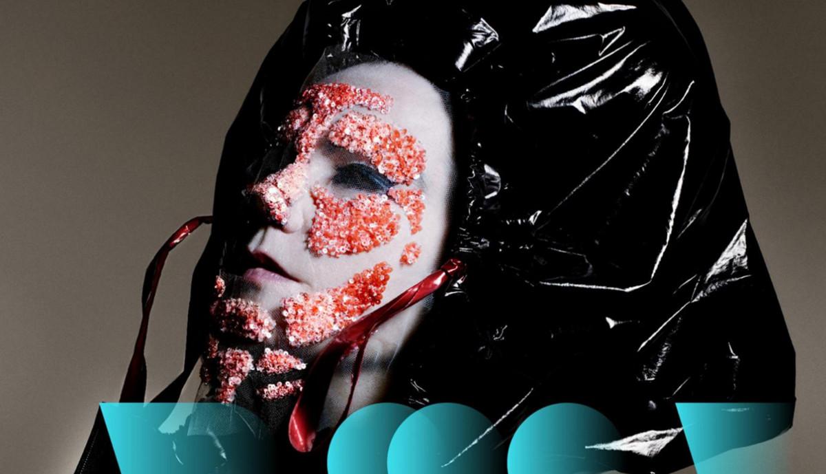 Björk, en una imagen promocional de la exposición 'Björk digital'.