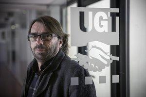 Entrevista con el secretario general de UGT en Catalunya, Camil Ros.