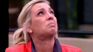 Las terribles 24 horas de Carmen Borrego en 'Sálvame Okupa': lágrimas, una mentira y un tartazo