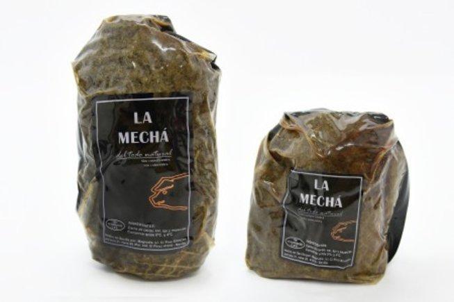 Carne de la marca 'La Mechá'.