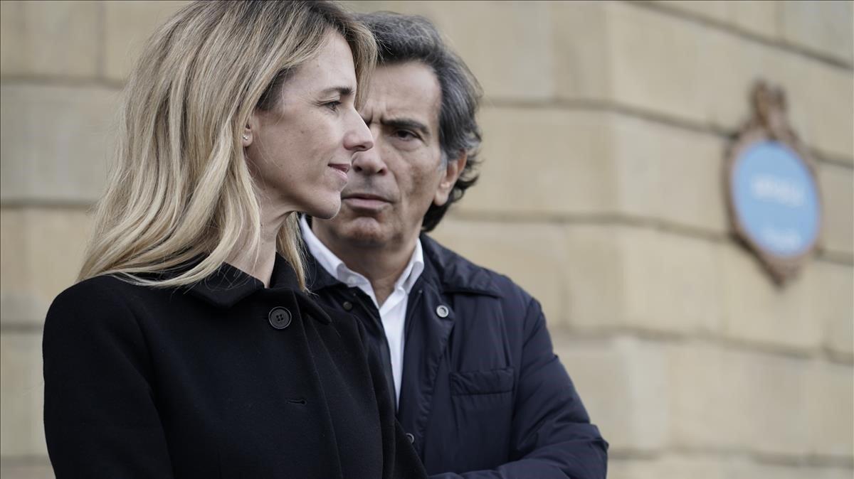 La portavoz del PP en el Congreso, Cayetana Álvarez de Toledo, en Bilbao