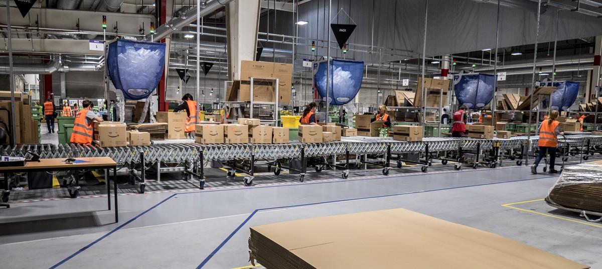 Centro logístico de Amazon en Castellbisbal.