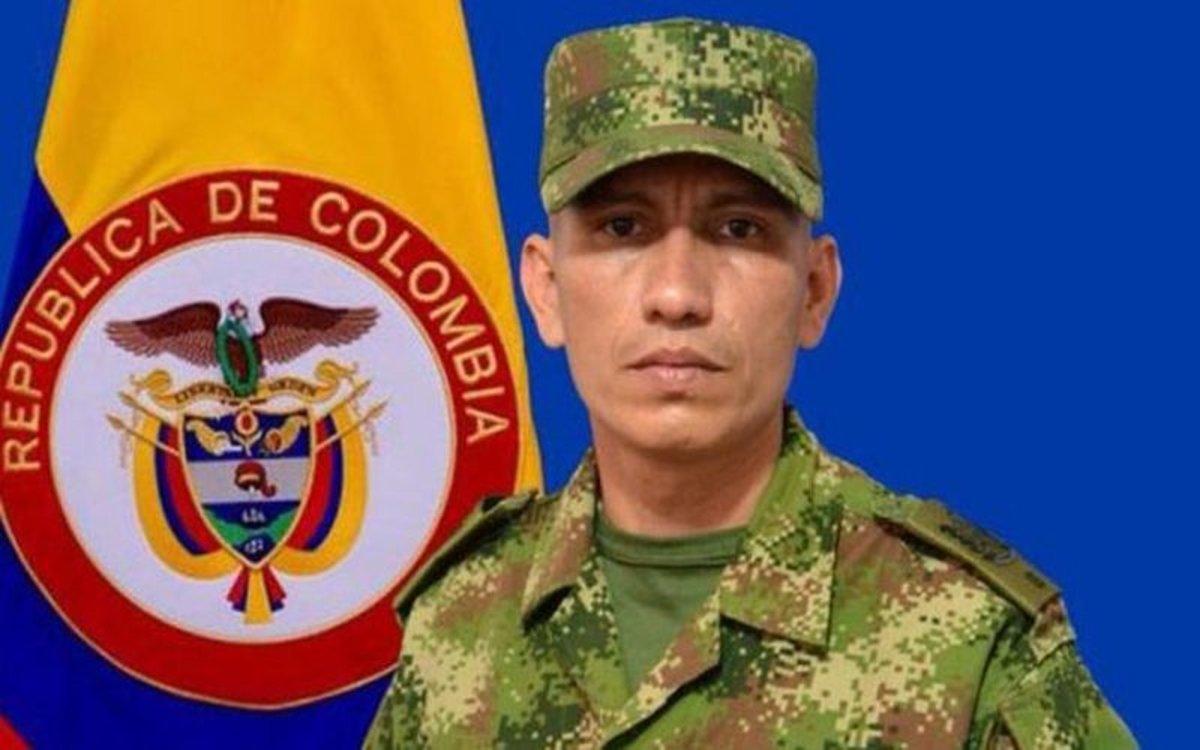 Soldado colombianoJesús Albeiro Acosta Melo, secuestrado por un grupo armado.