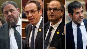 La fiscalia demana la suspensió «immediata» dels presos electes
