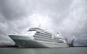 Crucero aislado en Brasil por casos de coronavirus.