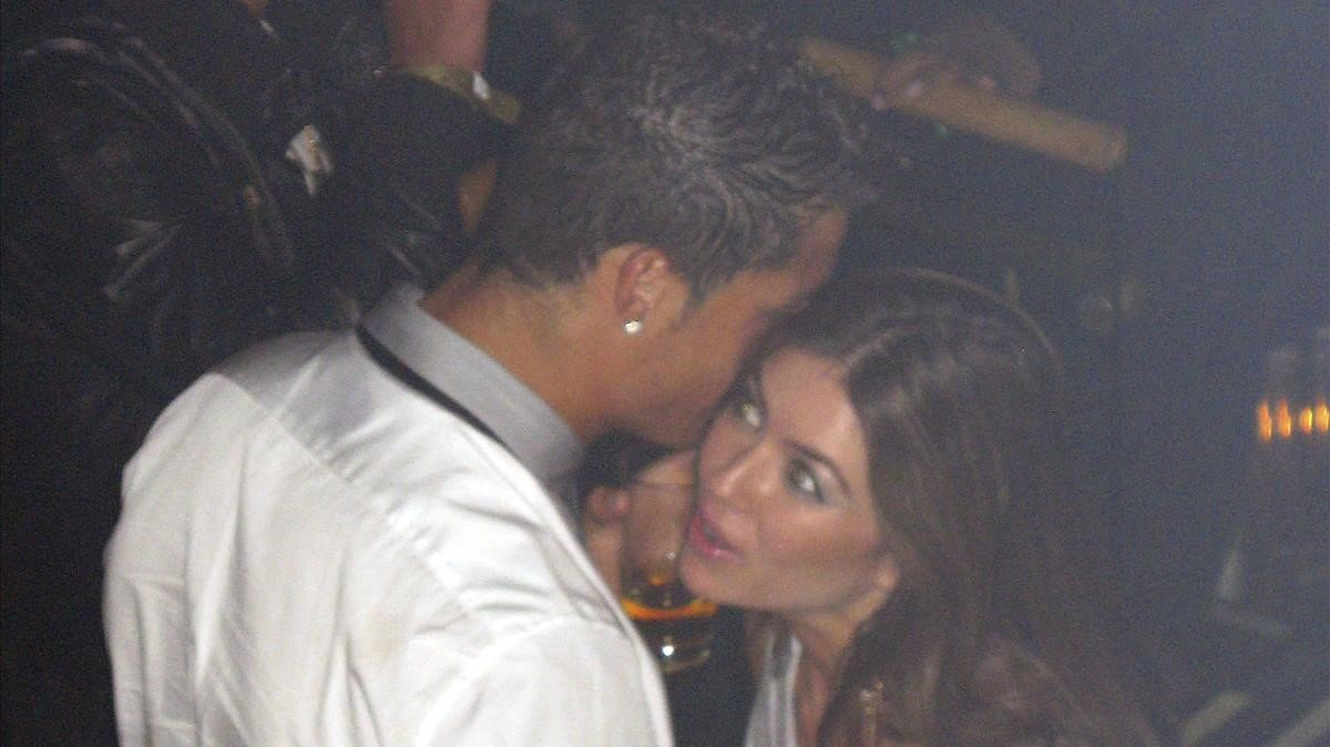 Cristiano Ronaldo, con Kathryn Mayorga, aquella noche del 2009 en Las Vegas.