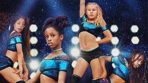 Una imagen de la película 'Cuties'.