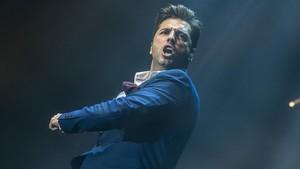 David Bustamante, durante un concierto que ofreció en Barcelona, en noviembre del 2016.