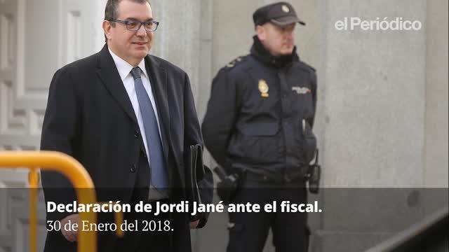 Declaración de Jordi Jané.