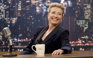 Emma Thompson, en un momento de la película 'Late Night'.