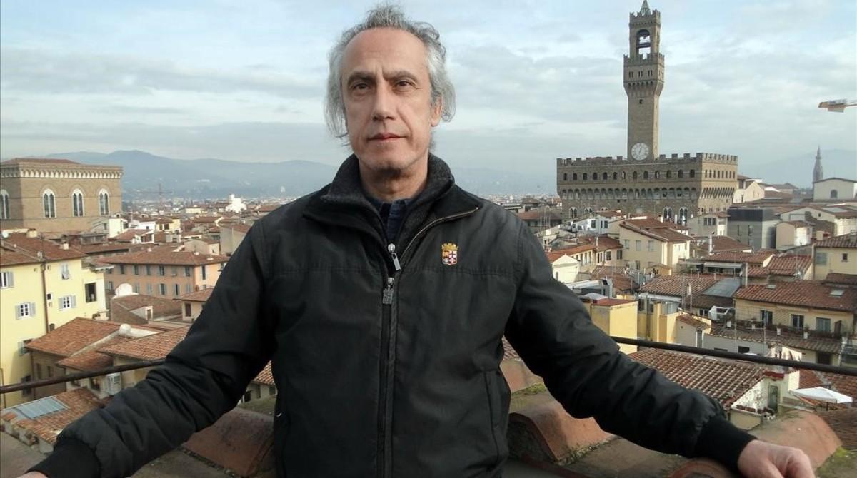 El escritor florentino de novela negra Marco Vichi.