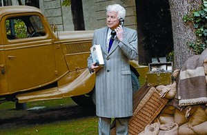 El escritor Ken Follett, durante una visita aMadrid.