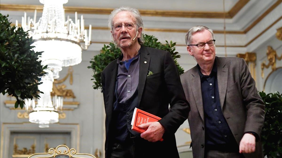 Turquía pide revocar el Nobel de Literatura a Peter Handke