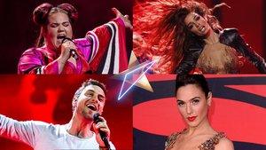 Eleni Foureira, Gal Gadot y Måns Zelmerlöw, entre los artistas invitados a Eurovisión