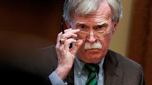 El exasesor de Seguridad Nacional de la Casa Blanca John Bolton, en una imagen de archivo.