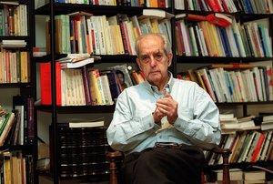 El exministro socialista Fernando Morán, en una imagen de archivo.