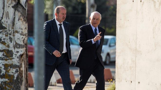 El expresidente de BBVA Francisco González llega a declarar como testigo en el juicio a Bolsa de Bankia.