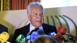 El expresidente Felipe González.