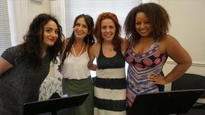 Quatre dives del musical, reines a Pedralbes