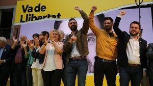 """ERC acusa el PSOE de ser la """"crossa"""" de l'extrema dreta"""
