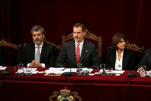 Sànchez, Rull i Turull demanen que el Rei, Rajoy i Puigdemont declarin en el judici