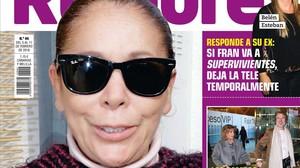 Portada de la revista Rumore, en la que aparece Isabel Pantoja.
