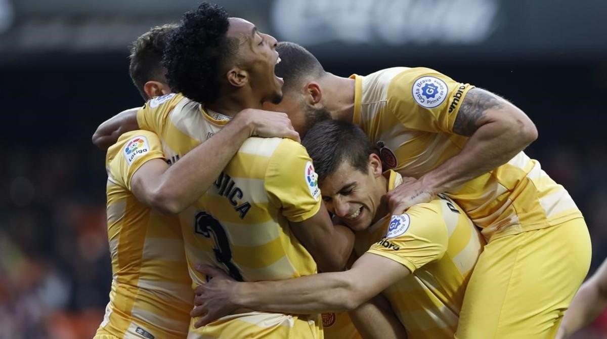 El Girona tratará de seguir siendo una piña ante el Leganés.