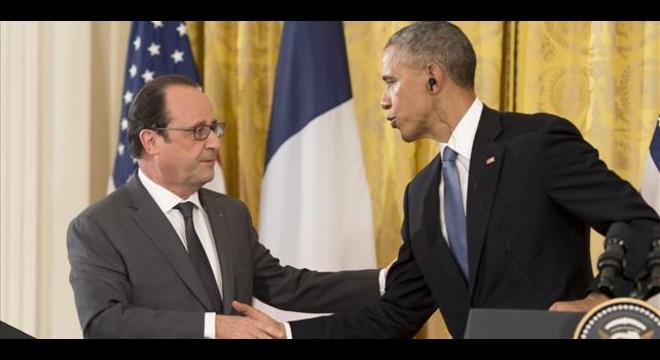 Obama y Hollande acuerdan intensificar los ataques contra el Estado Islámico