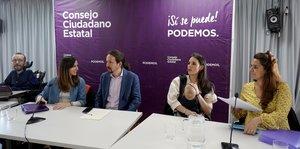 Iglesias buscarà el recolzament de les bases de Podem al març després d'haver pactat amb Sánchez