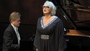 Iréne Theorin, en su actuación en el Liceu