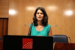 Isa Serra, portavoz de Unidas Podemos en la Asamblea de Madrid.