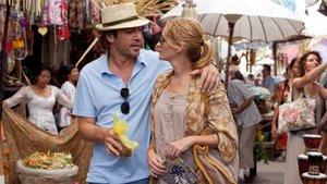 Javier Bardem y Julia Roberts, protagonistas de Come, reza, ama.