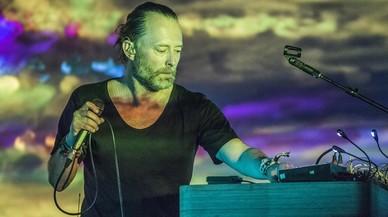 Thom Yorke, entregado al baile