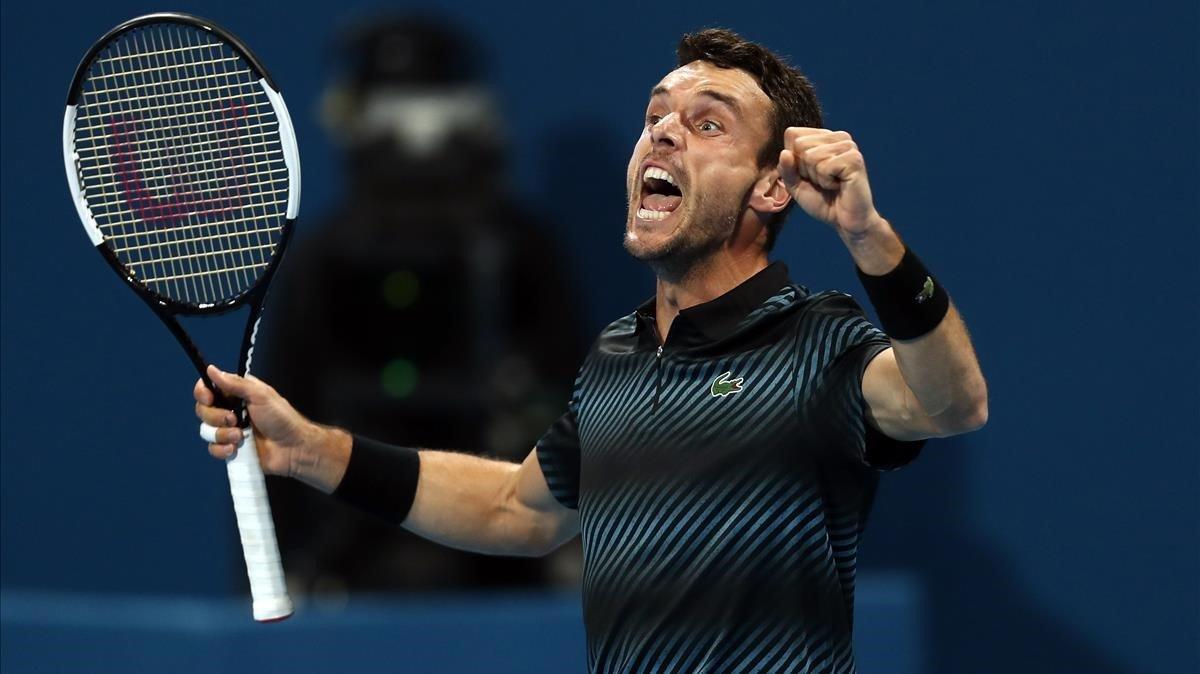 Bautista guanya Djokovic a Doha