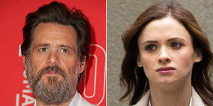 Jim Carry y su ex, la maquilladora Cathriona White.