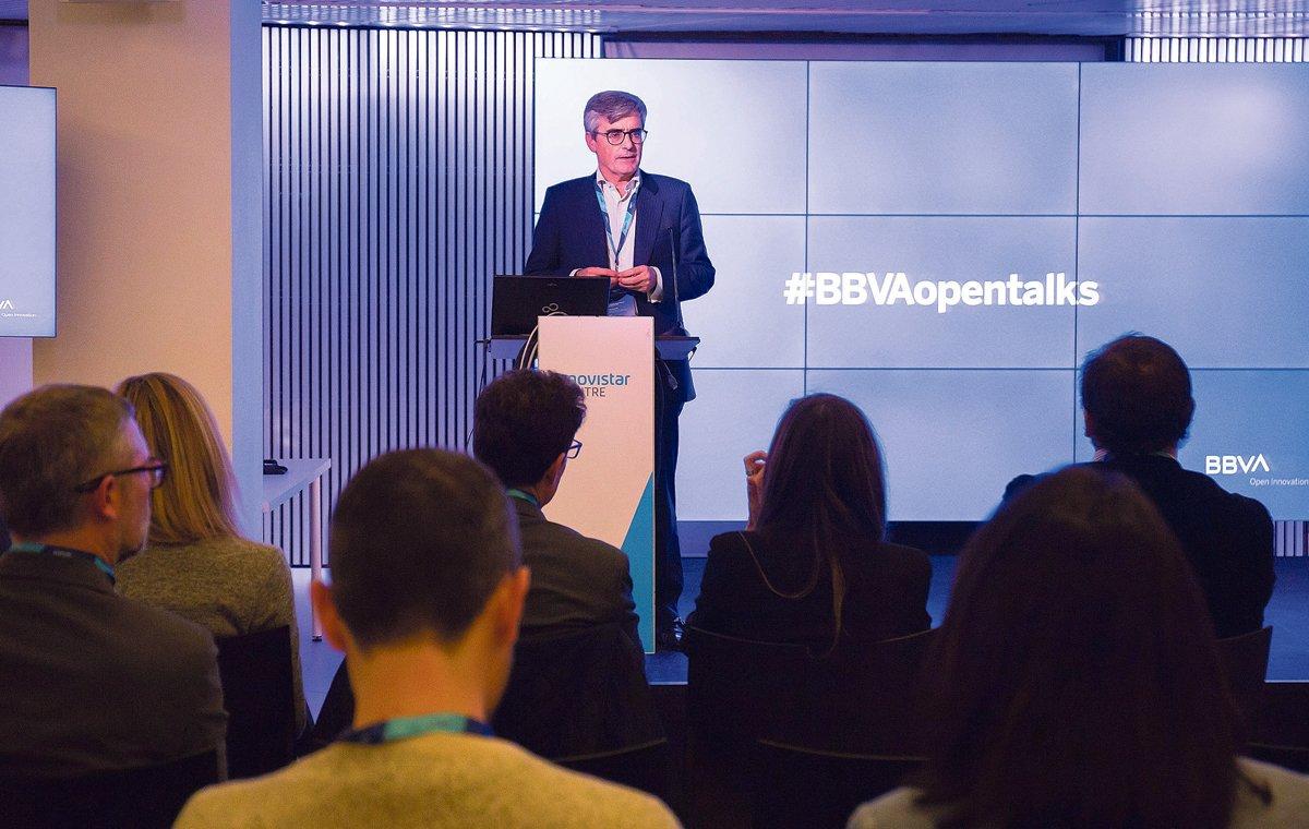 Joan Piera, director regional de banca de empresas de BBVA en Catalunya, en Open Talks.