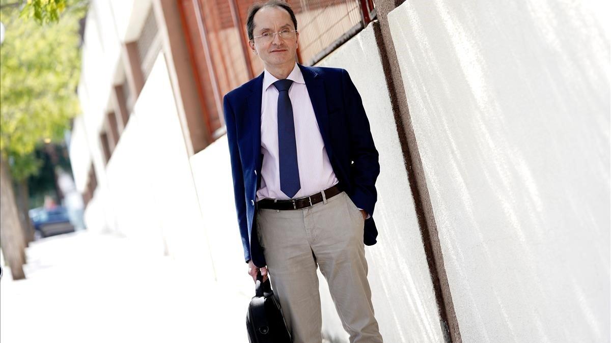 Juan Martínez Hernández, exdirector de Salud Pública de la Comunidad de Madrid.