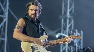 Juanes, el pasado mes de julio, durante su actuación en elFestival Hard Rock Rising, en Barcelona.