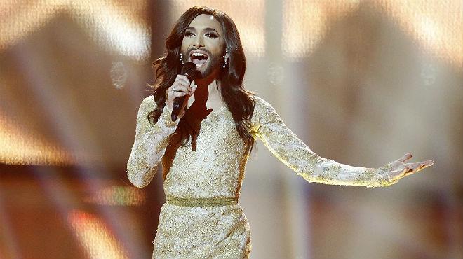 L'actuació de Conchita Wurst a Eurovisió.