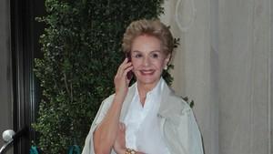 La diseñadora Carolina Herrera.